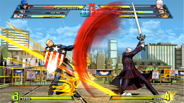 Marvel vs. Capcom 3: Fate of Two Worlds Screenshot