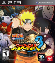 Naruto Shippuden: Ultimate Ninja Storm 3 Box Art