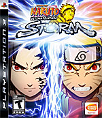Naruto: Ultimate Ninja Storm box art
