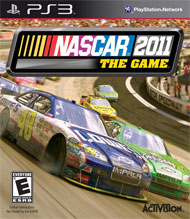 Nascar The Game 2011 Box Art