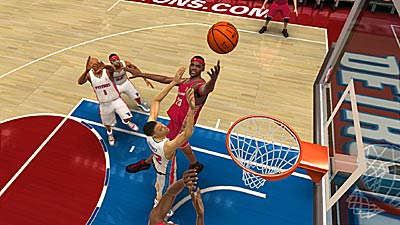NBA 08 screenshot