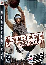 NBA Street Homecourt box art