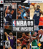 NBA 09: The Inside box art