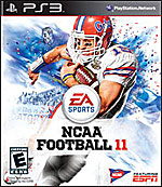 NCAA Football 11 box art