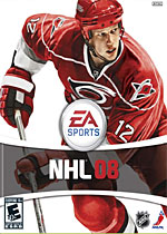 NHL 08 box art