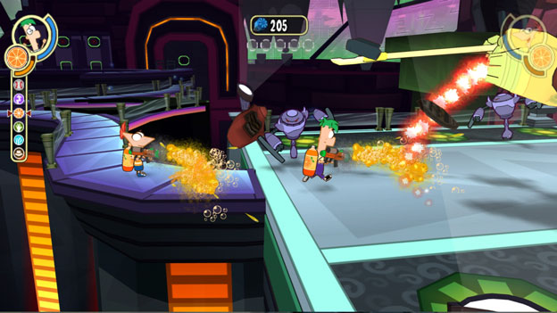 Phineas and Ferb: Across the 2nd Dimension Screenshot