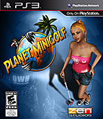 Planet Minigolf box art