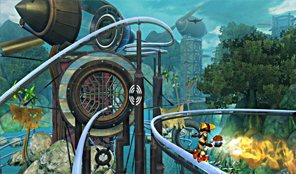 Ratchet and Clank Future: Quest for Booty screenshot