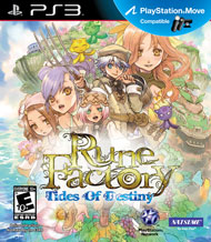 Rune Factory: Tides of Destiny Box Art