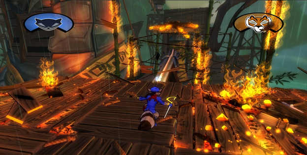 Sly Cooper: Thieves in Time Screenshot