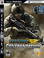 SOCOM: Confrontation box art