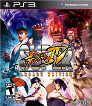 Super Street Fighter IV: Arcade Edition Box Art