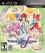 Tales of Graces f Box Art