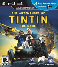The Adventures of Tintin: The Game Box Art