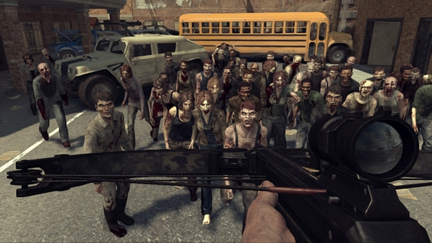 The Walking Dead: Survival Instinct Screenshot