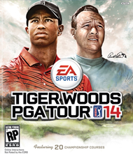 Tiger Woods PGA Tour 14 Box Art