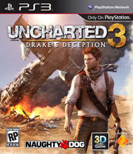 Uncharted 3: Drake's Deception Box Art