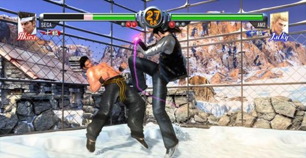 Virtua Fighter 5 Final Showdown Screenshot