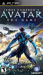 James Cameron's Avatar: The Game box art