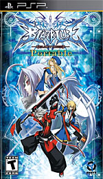 BlazBlue: Calamity Trigger Portable box art