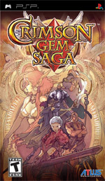 Crimson Gem Saga box art