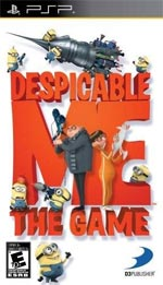 Despicable Me: The Game box art