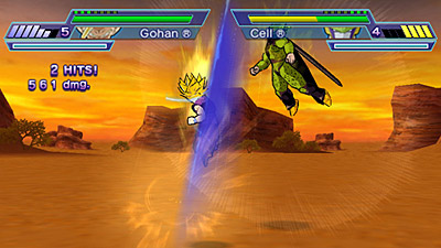 Dragonball Z: Shin Budokai - Another Road screenshot