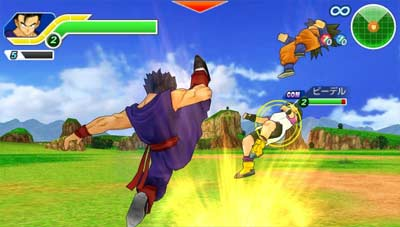 Dragon Ball Z: Tenkaichi Tag Team screenshot