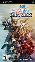 Final Fantasy Tactics: War of the Lions box art