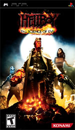 Hellboy: The Science of Evil box art