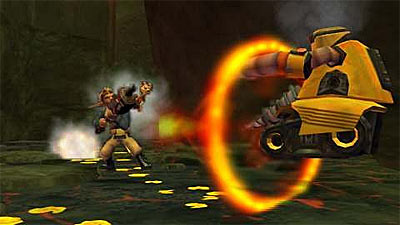 Jak and Daxter: The Lost Frontier screenshot