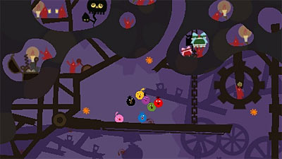 LocoRoco Midnight Carnival screenshot