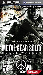 Metal Gear Solid: Peace Walker box art