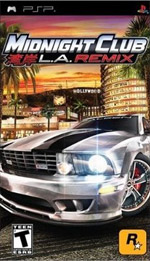 Midnight Club: LA Remix box art