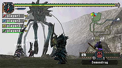 Monster Hunter Freedom 2 screenshot