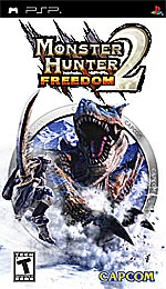 Monster Hunter Freedom 2 box art