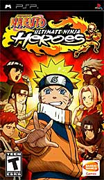 Naruto: Ultimate Ninja Heroes box art