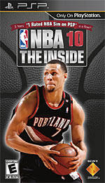 NBA 10: The Inside box art