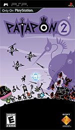 Patapon 2 box art