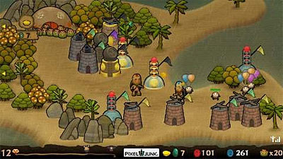 PixelJunk Monsters Deluxe screenshot
