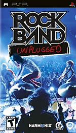 Rock Band: Unplugged box art