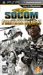 SOCOM: U.S. Navy SEALs Fireteam Bravo 3 box art