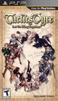 Tactics Ogre: Let Us Cling Together Box Art