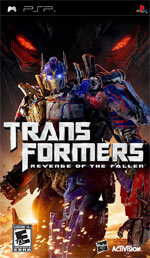 Transformers: Revenge of the Fallen box art