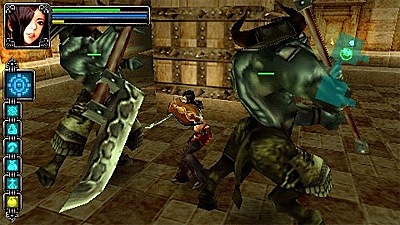 Warriors of the Lost Empire screenshot