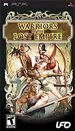 Warriors of the Lost Empire box art