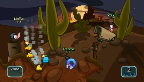 Worms: Battle Islands Screenshot
