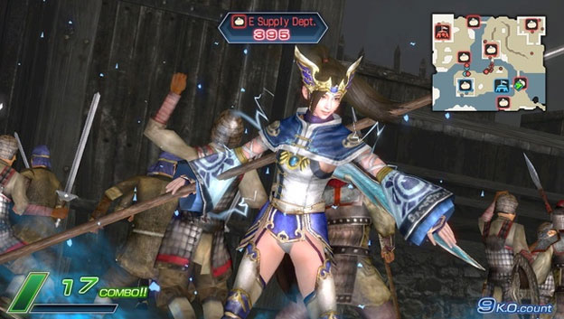 Dynasty Warriors Next Screenshot