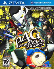 Persona 4: Golden Box Art
