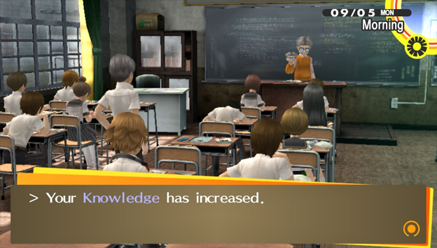 Persona 4: Golden Screenshot